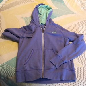 North Face Zipped Hoodie